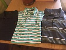 Lot of 3 Mens Polo Shirts-Ralph Lauren- RLX- Nike Golf Dr Fit