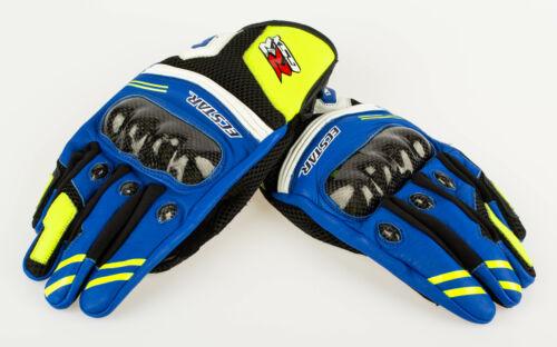 Short Genuine Suzuki Moto GP Design Riding Gloves