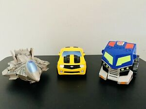 Transformers Movie and Animated Optimus Prime, Starscream & Bumblebee Lot