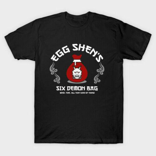Egg Shens Six Demon Bag T-shirts Tee S-5XL US 100 cotton clothing trend Funny