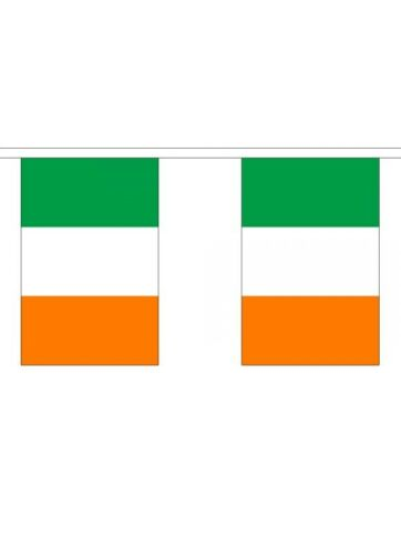 3m 6m 9m Metre 10 20 30 Flags St Patrick/'s Day Irish Ireland Flag Bunting