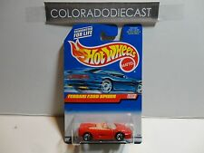 Hot Wheels #1119 Red Ferrari F355 Spyder w/5 Spoke Wheels