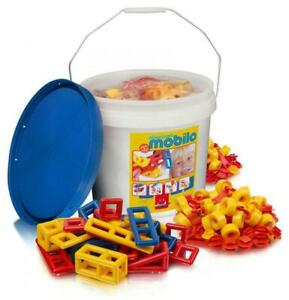 Large Bucket With Lid, 234 Piece - Mobilo Free Shipping!