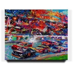 Blend-Cota-The-Great-American-Race-24-x-30-S-N-LE-Gallery-Wrapped-Canvas