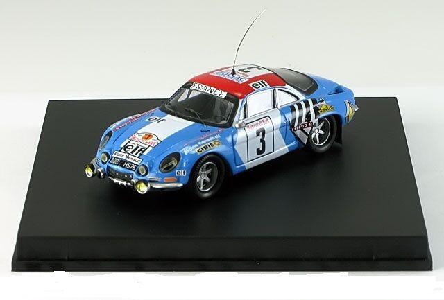 Alpine Renault A110 1 Marocco Rally 1974 Nicolas-Delferrier 821  Trofeu