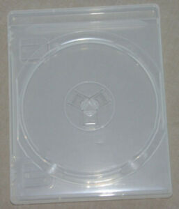 10 Official Sony DuBois PS3 PlayStation 3 Clear Replacement Game Cases OEM