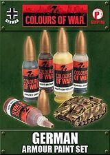Flames of War WWII Colours of War German Afrika Korps Paint Set Free UK P&P
