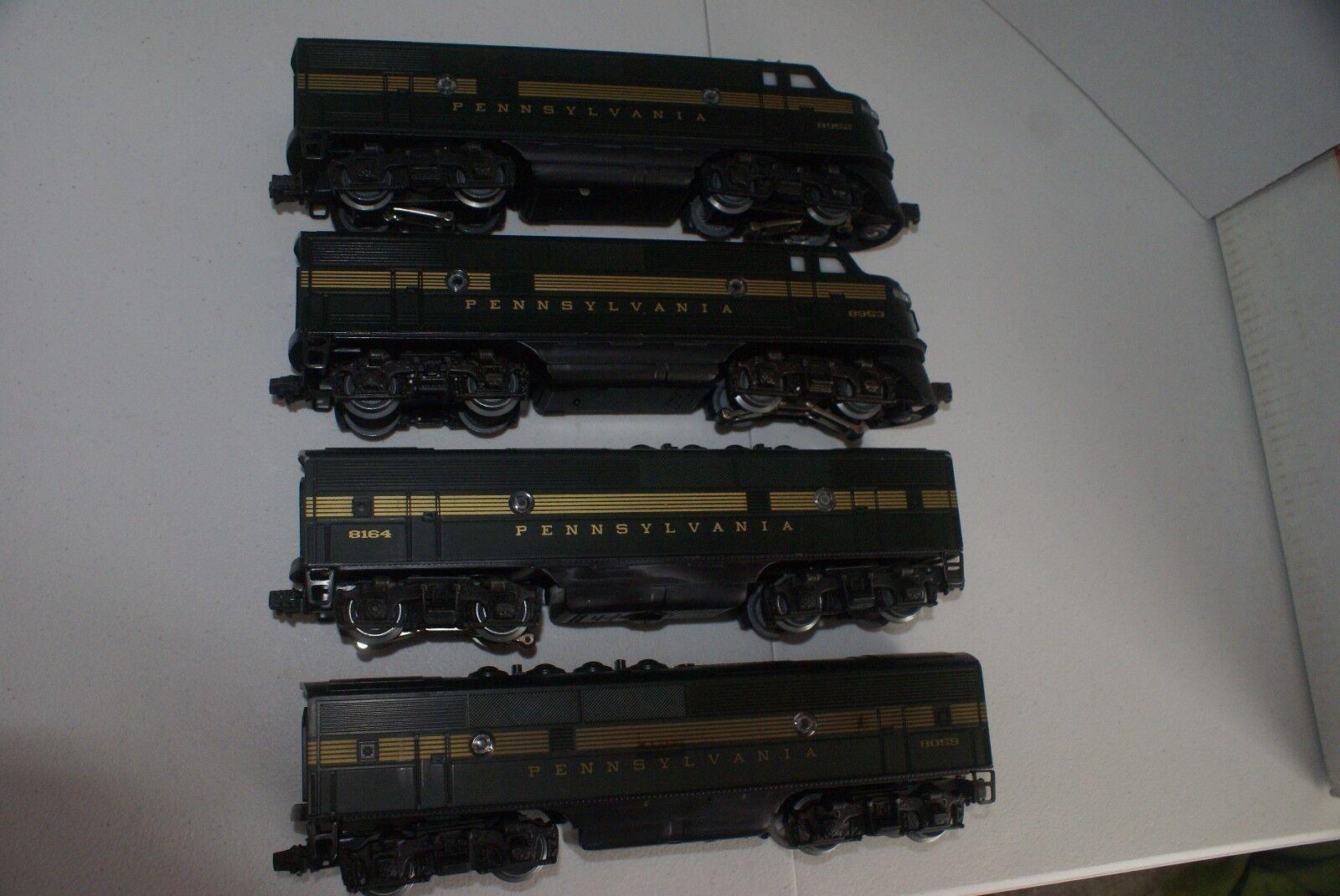 Lionel  8952/8953 F-3 AA &  8059 &  8164 F-3 B-UNITS