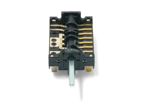 Genuine Smeg Forno Fornello Selettore di funzione collettore a lamelle 811730195