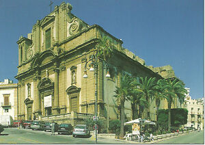 CARTOLINA-SICILIA-SICILY-POSTCARD-SCIACCA-DUOMO