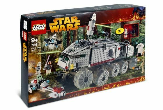 LEGO 7261 - Star Wars Clone Turbo Tank [RARE] NEW