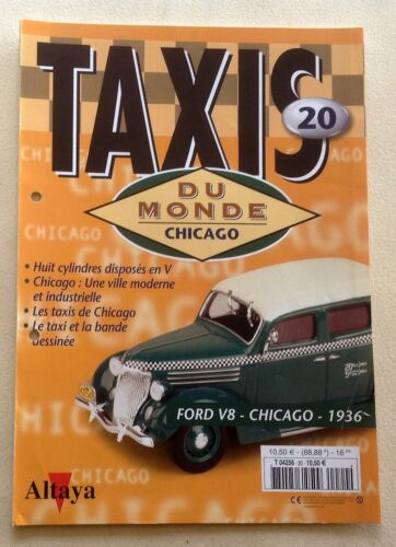 Fascicules accompagnement auchoix 2002-2004 Taxis du Monde ALTAYA 1ère série