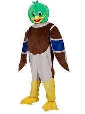 Adulto l'anatra Mascotte Costume BIG HEAD Costume JUMBO Stag animale unisex