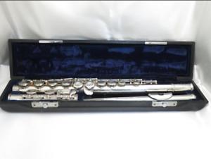 Yamaha YFL-211S Flute Silver plating music hardcase  Adjusted Japan