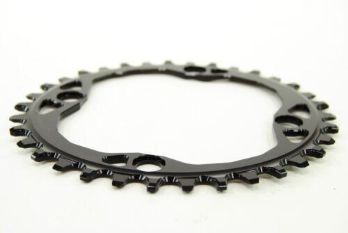 Absolute Black Oval MTB Chainring 4x104//64mm 34t 1x10,1x11,1x12