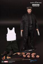 Hot Toys 1/6 The Wolverine Figure Hugh Jackman X-Men Marvel Comics Logan