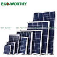 Mono Poly Solar Panel 5w 10w 100w 160w Module For 12v 24v Home Power Charging