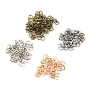 10PCS-4-5MM-Mini-Japanese-Word-Buckles-For-Blyth-Doll-Shoes-Clothes-Acc-2Y