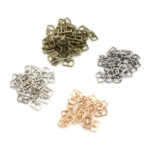 10PCS-4-5MM-Mini-Japanese-Word-Buckles-For-Blyth-Doll-Shoes-Clothes-Acc-URPLCA