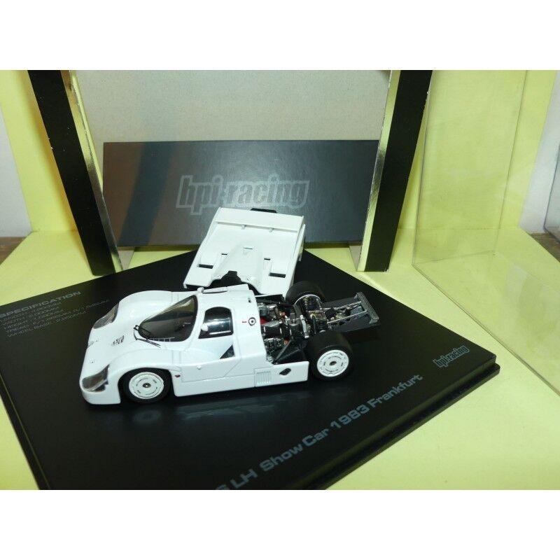 nueva marca PORSCHE 956 LH Show Coche FRANKFORT FRANKFORT FRANKFORT 1983 blanco HPI-Racing 1 43  venta al por mayor barato