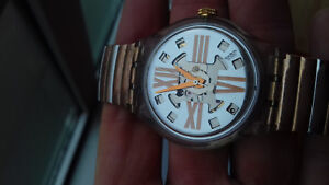 Swatch vintage collection (1993) sak-108 cooper rush automatic watch montre us
