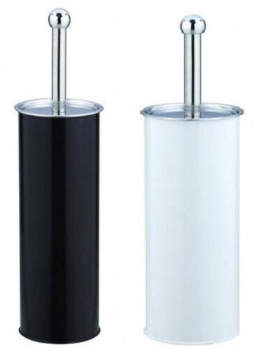 Brosse wc en acier inoxydable noir ou blanc 70061