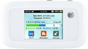 ZTE-Velocity-MF923-4G-LTE-Mobile-WiFi-Hotspot-White-GSM-Unlocked-Bonus-Battery