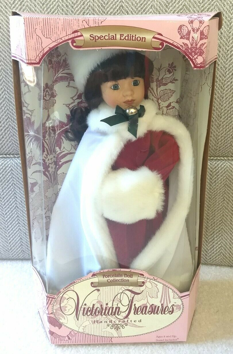 VICTORIAN TREASURES SPECIAL EDITION PORCELAIN DOLL COLLECTION