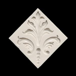 LARGE FLEUR DE LIS DESIGN Silicone Mold