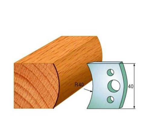 Broche Mouleur Cutters-couteaux 40 mm-Profil 008 couteaux seulement