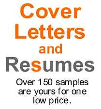 Resume and Cover Letter Resource - Over 150 professional samples