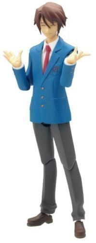 Figma 007 The Melancholy of Suzumiya Haruhi Itsuki Koizumi Uniform Ver. Figure