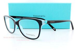 image is loading brand new tiffany eyeglass frames 2097 8055 black