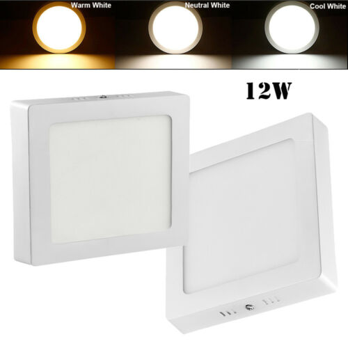 6W 12W 18W 24W Surface Mounted LED Ceiling Panel Light Wall Down Lamp Fixtures