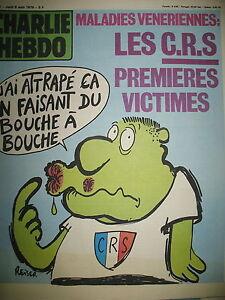 CHARLIE-HEBDO-N-456-CRS-VICTIMES-DESSINS-SATIRIQUES-COUV-REISER-1979