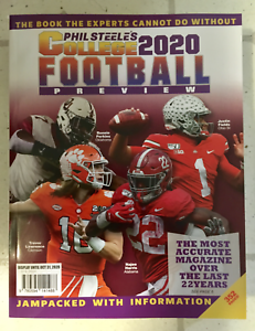 No Label PHIL STEELE'S COLLEGE FOOTBALL 2020 Special Edition PREVIEW Alabama NEW