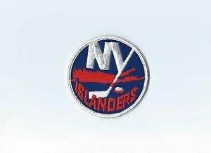 """Vintage Early 1970s NY New York Islanders 3"""" Round Patch (sew on)"""
