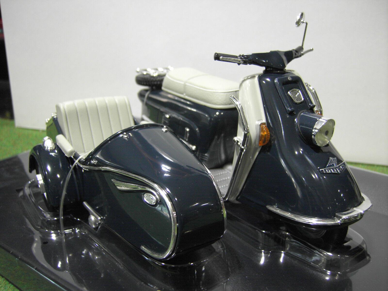 Moto HEINKEL ROLLER Side Car 1960   1965 au 1 10 SCHUCO 06540 voiture miniature