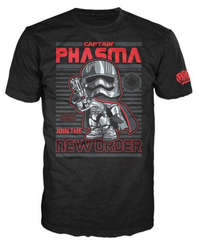 Star Wars VII The Force Awakens Pop Tees Captain Phasma T-Shirt