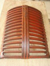 Vintage Antique Rat Rod Man Cave Case Dc Cast Iron Tractor Grille 5358a Nice 2