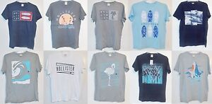 Hollister-Mens-T-Shirts-Many-Patterns-Colors-and-Sizes-NWT