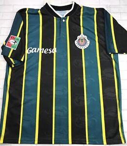 8495977f9 VTG Chivas De Guadalajara Rare Jersey Gamesa- Soccer Futbol - Large ...
