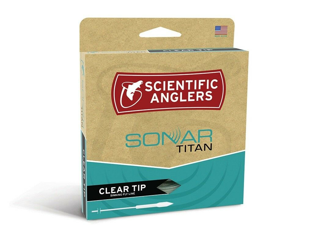 Scientific Anglers  Sonar Titan Clear Tip Fly Line - WF6F I  is discounted