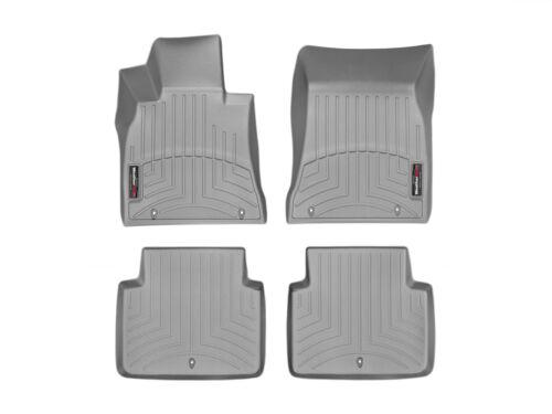 WeatherTech Floor Mats FloorLiner for Hyundai //Genesis G80-2015-2019 Grey