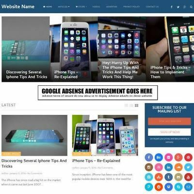 IPHONE SHOP - Online Business Website For Sale + Domain + Hosting + Amazon  | eBay