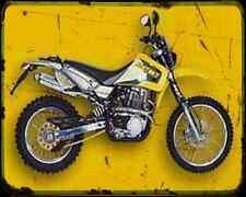 Ccm 604 Dual Sport 1 A4 Metal Sign Motorbike Vintage Aged