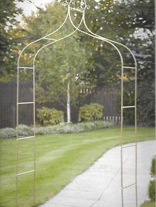 New deluxe victoria garden metal arch climbing plants - Garden arch climbing plants ...