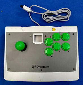 Arcade-Joy-Stick-controller-per-SEGA-Dreamcast-Jap-usato-se-ritiri-in-neg-99