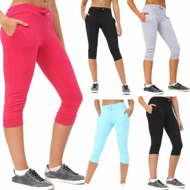 Skechers Womens Joggers Casual Cropped