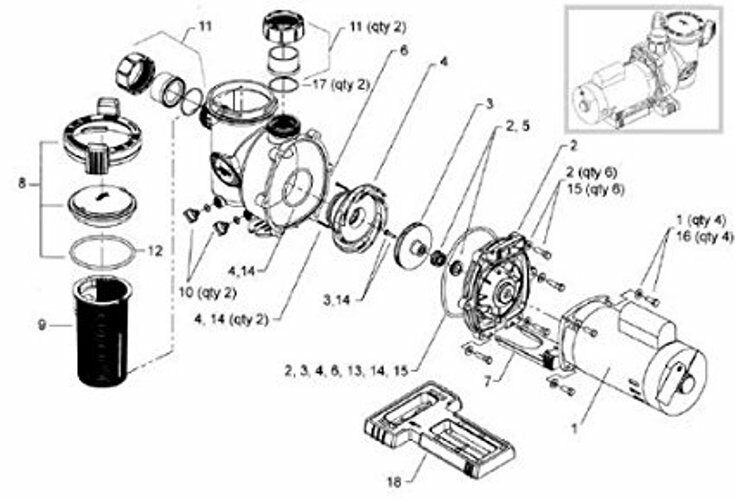 jacuzzi wiring diagram ao smith pump